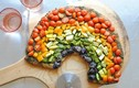 Cách làm bánh pizza cầu vồng vô cùng đơn giản đẹp mắt