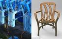 Kỳ công tạo những chiếc ghế trăm triệu từ thân cây non