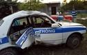 Thiếu úy cảnh sát bị thương khi đuổi xế hộp chở 3.000 viên ma túy