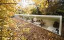 Ngắm nhà đẹp mê hồn dưới sắc màu mùa thu
