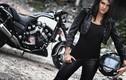 """Nữ biker cá tính cùng """"ma tốc độ"""" Yamaha V-Max"""