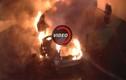 650 xe cháy rụi trong ngày đầu năm 2017 tại Pháp