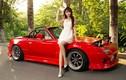 """Hotgirl """"thỏ con"""" khoe dáng bên xe thể thao Mazda MX-5"""