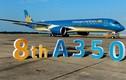 Cận cảnh siêu máy bay A350-900 thứ 8 của Vietnam Airlines