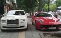 """Đại gia HN """"show hàng"""" Rolls-Royce và Ferrari 40 tỷ"""