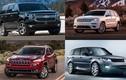 Top xe bán tải và SUV kém tin cậy nhất năm 2017