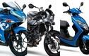 """Suzuki """"nhá hàng"""" bộ 3 xe máy mới trước ngày ra mắt"""