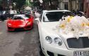 Dàn siêu xe và xe sang trăm tỷ rước dâu Hà Thành