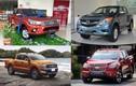 Doanh số xe ôtô bán tải tháng 09/2017 tại Việt Nam