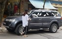 """Xe ôtô Mitsubishi Pajero """"mọc cánh"""" trên phố Hà Nội"""
