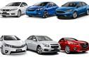 Top xe ôtô hạng C bán chạy nhất tại Việt Nam
