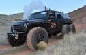 """""""Quái vật"""" Jeep Wrangler 6 bánh chạy bằng hơi nước"""