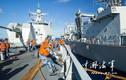 Hạm đội Nam Hải diễn tập tiếp tế trái phép ở Biển Đông