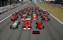 Hình ảnh đẹp nhất trên đường đua F1 năm 2014