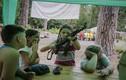 """Ảnh gây sốc về huấn luyện  """"chiến binh nhí"""" ở Ukraine"""