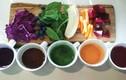 Hướng dẫn tạo phẩm màu đẹp, an toàn từ rau củ