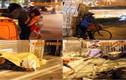Người nghèo mưu sinh, ngủ lề đường giữa giá rét Hà Nội