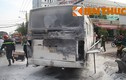 Ô tô 29 chỗ đưa đón học sinh bốc cháy dữ dội