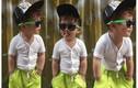"""Hot boy nhí 3 tuổi """"sành điệu nhất hệ Mặt Trời"""""""