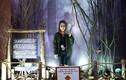 Con gái Thanh Lam nhí nhảnh đi xem phim kinh dị