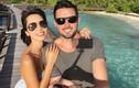 Vợ chồng Hà Anh hạnh phúc trong tuần trăng mật ở Maldives