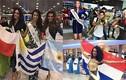 Thí sinh Miss Universe 2016 rầm rộ lên đường đi thi