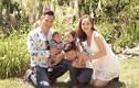 Hình ảnh đời thường hạnh phúc của Jennifer Phạm bên chồng con