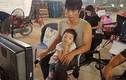 Hot Face sao Việt 24h: Con gái Dustin Nguyễn đến phim trường thăm bố
