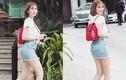 Hot Face sao Việt 24h: Ngọc Trinh mặc váy ngắn cũn dạo phố