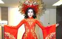 Trang phục truyền thống tuyệt đẹp của Huyền My ở Miss Grand 2017