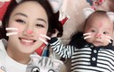 Hot Face sao Việt 24h: HH Thu Ngân khoe con trai giống bố như đúc