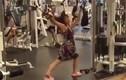 Khi chị em thực sự tập gym