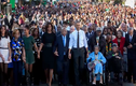 Khoảnh khắc Tổng thống Obama ghi dấu trong lòng nước Mỹ