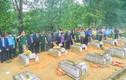 Xúc động lễ an táng 12 hài cốt liệt sĩ hy sinh tại Lào về đất mẹ