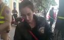 Phản cảm cô gái hung hăng rút dao dọa chém CSGT