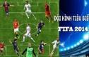 Mê mệt đội hình tiêu biểu FIFA 2014