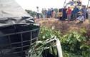 Xe tải bị tàu hỏa tông, lái xe văng xuống cống tử vong