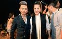 Phan Hiển cùng Khánh Thi, Vy Khanh đi mừng chiến thắng