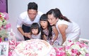 Vợ chồng Bình Minh hạnh phúc trong tiệc sinh nhật con gái