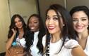Lệ Hằng thi Miss Universe nhưng không thể nói tiếng Anh