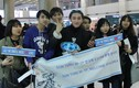Fan ngủ qua đêm tại sân bay Hàn để đón Sơn Tùng