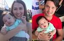 Con trai Đan Trường được mỹ nhân đẹp nhất Philippines âu yếm