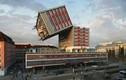 Những tòa nhà kỳ lạ không tưởng nhờ thiết kế công nghệ 3D