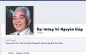 Gia đình lập trang Facebook chính thức về Đại tướng