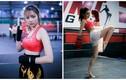 Dàn nữ nhân viên ngân hàng hóa hot girl boxing gợi cảm