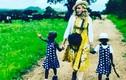 Ngắm hai bé sinh đôi, con nuôi mới nhận của Madonna