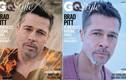 Brad Pitt phờ phạc, buồn bã làm mẫu trên tạp chí
