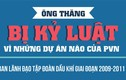 Ông Đinh La Thăng bị kỷ luật vì những dự án nào của PVN?