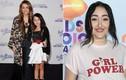 Em gái Miley Cyrus lớn bổng thành thiếu nữ