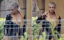 Kristen Stewart hớ hênh lộ ngực khi đến thăm người tình đồng giới